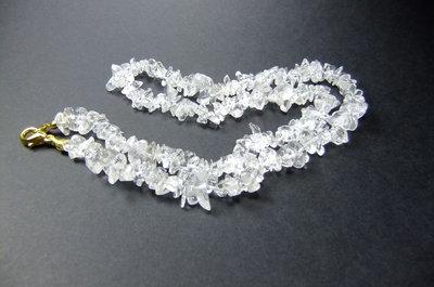 bergkristal ketting