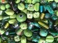 Kralen Mix Groen