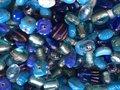 Glaskralen Blauw
